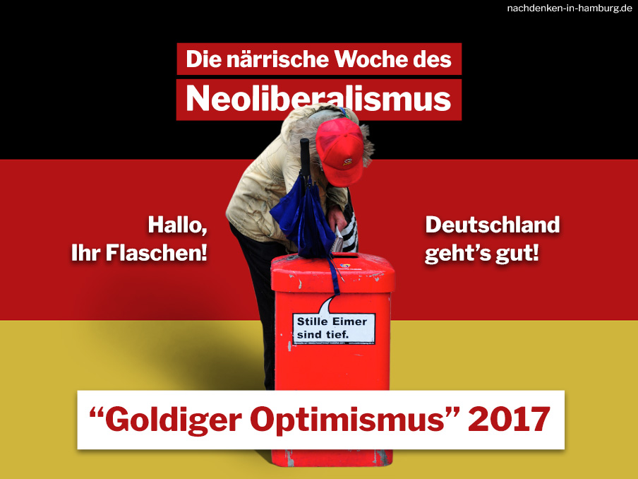 Medien Goldiger Optimismus